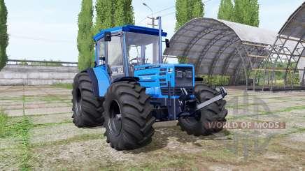 Hurlimann H-488 big wheels für Farming Simulator 2017
