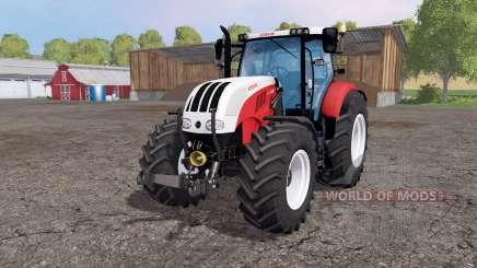 Steyr 6230 CVT front loader pour Farming Simulator 2015