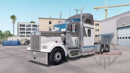 La peau Maître de Gris sur le camion Kenworth W900 pour American Truck Simulator