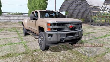 Chevrolet Silverado 3500 HD Crew Cab 2016 für Farming Simulator 2017