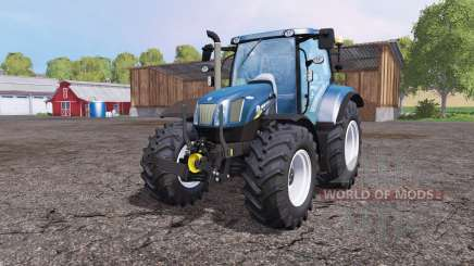 New Holland T6.160 front loader pour Farming Simulator 2015