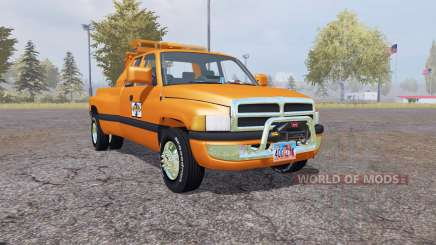 Dodge Ram 3500 Club Cab wrecker pour Farming Simulator 2013