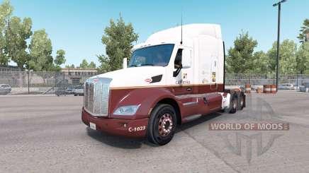 Caffenio de la peau pour le camion Peterbilt 579 pour American Truck Simulator
