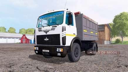 MAZ 5551 v3.0 pour Farming Simulator 2015