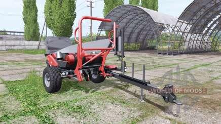 URSUS Z-586 black bale pour Farming Simulator 2017