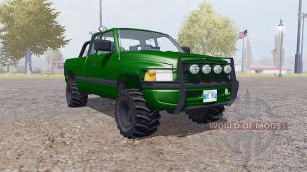 Dodge Ram 2500 Club Cab forest pour Farming Simulator 2013