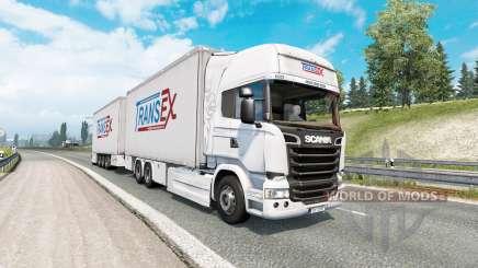 Tandem truck traffic v1.7 pour Euro Truck Simulator 2