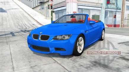 BMW M3 cabrio (E93) 2008 pour BeamNG Drive