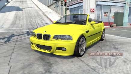 BMW M3 cabrio (E46) 2001 pour BeamNG Drive