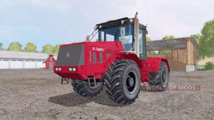 Kirovets K 744R3 pour Farming Simulator 2015