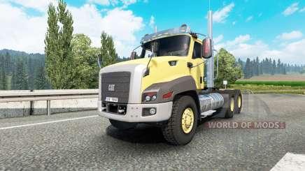 Caterpillar CT660 v2.1 pour Euro Truck Simulator 2