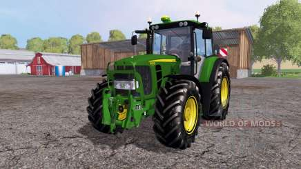John Deere 6930 Premium front loader pour Farming Simulator 2015