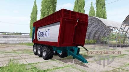 Grazioli Domex 200-6 v2.1 für Farming Simulator 2017