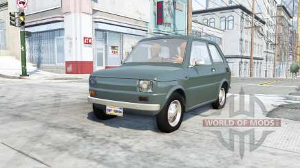 Fiat 126p v9.1 pour BeamNG Drive