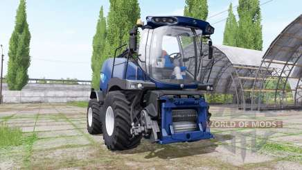 New Holland FR850 blue power für Farming Simulator 2017