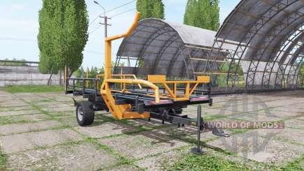 Warfama T-127 v1.1 für Farming Simulator 2017