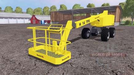 Haulotte H14 TX v3.0 für Farming Simulator 2015