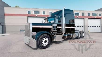 La peau Métallique peut être Peint pour le camion Peterbilt 389 pour American Truck Simulator