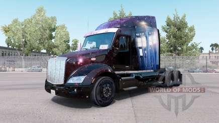 Le médecin Qui la peau pour le camion Peterbilt 579 pour American Truck Simulator