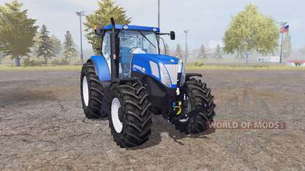 New Holland T7.220 blue power pour Farming Simulator 2013