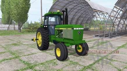 John Deere 4650 v1.2 für Farming Simulator 2017