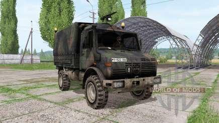 Mercedes-Benz Unimog U1300L bundeswehr für Farming Simulator 2017
