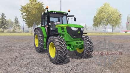 John Deere 6150M v2.0 pour Farming Simulator 2013