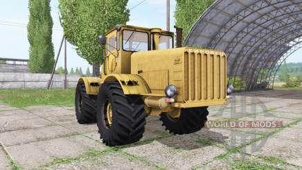 Kirovets K 700 v1.2 pour Farming Simulator 2017