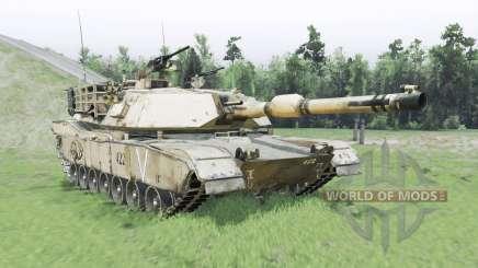 M1A1 Abrams pour Spin Tires