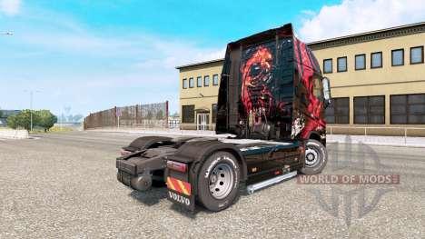 MSI Gaming de la peau pour le Volvo FH camion de pour Euro Truck Simulator 2