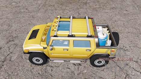 Hummer H2 SUT 2005 pour Farming Simulator 2015