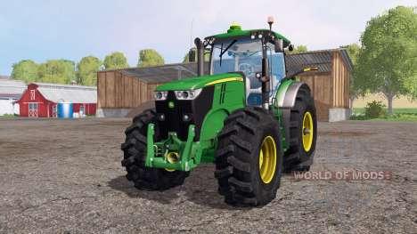 John Deere 7200R pour Farming Simulator 2015