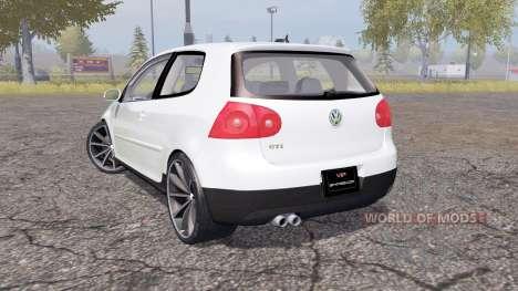 Volkswagen Golf GTI 3-door (Typ 1K) 2004 pour Farming Simulator 2013