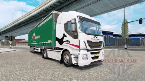 Painted truck traffic pack v4.5 pour Euro Truck Simulator 2