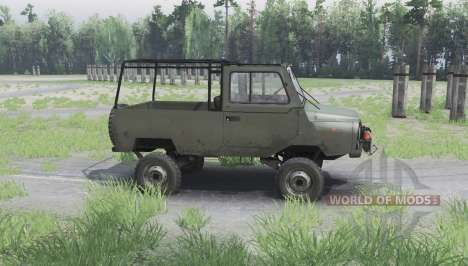 LuAZ 969М 1979 pour Spin Tires