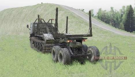 KamAZ 4310 robot pour Spin Tires