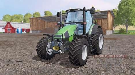Deutz-Fahr Agrotron 120 Mk3 front loader pour Farming Simulator 2015