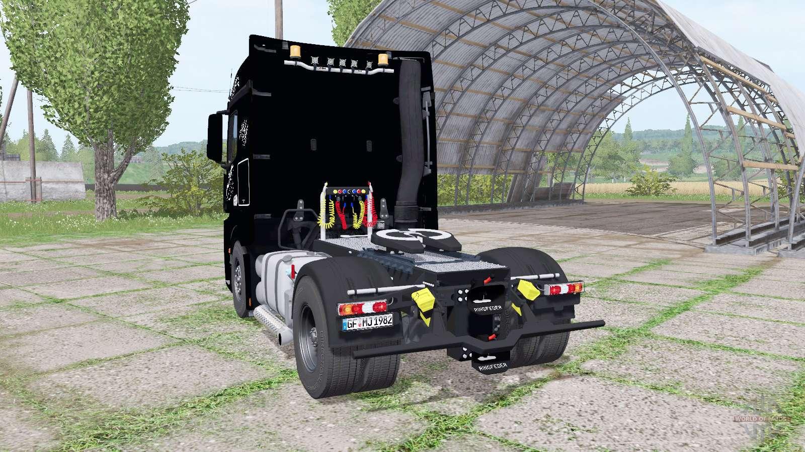 mercedes benz actros ls mp4 2011 f r farming simulator 2017. Black Bedroom Furniture Sets. Home Design Ideas