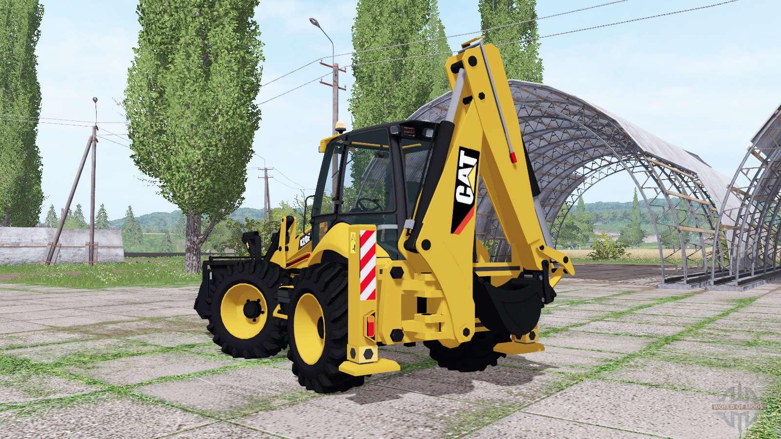 Caterpillar 420f pour farming simulator 2017 - Pelleteuse simulator gratuit ...