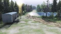 La boue de la route
