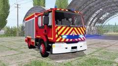 Renault Midlum Crew Cab Firetruck 2006 für Farming Simulator 2017