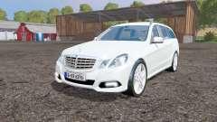 Mercedes-Benz E 350 CDI Estate (S212) 2009 pour Farming Simulator 2015