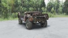 Rusty UAZ 469 v1.2 pour Spin Tires