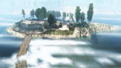 Le littoral de la rivière
