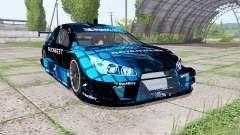 Chevrolet Impala SS NASCAR Ravenwest Blue pour Farming Simulator 2017