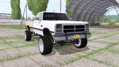 Dodge Ram D250 Club Cab 1991 für Farming Simulator 2017