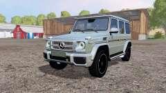 Mercedes-Benz G 65 AMG (W463) pour Farming Simulator 2015