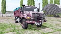 Mercedes-Benz Zetros 1833 A 2008 pour Farming Simulator 2017