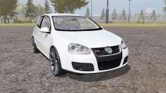 Volkswagen Golf GTI 3-door (Typ 1K) 2004 für Farming Simulator 2013