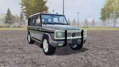 Mercedes-Benz G500 (W463) Unmarked Police